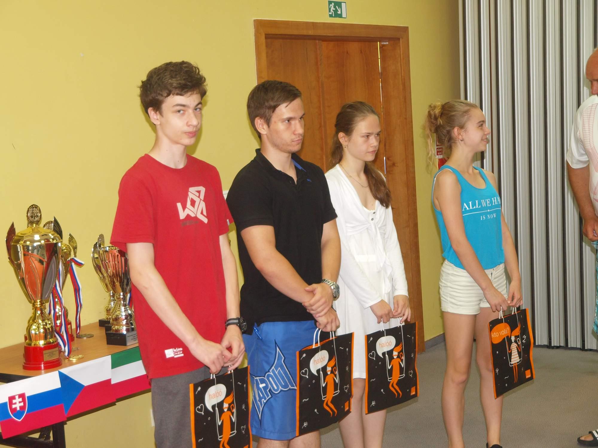 International Youth Chess Camp V4 Liptov 2016 vyhodnotenie