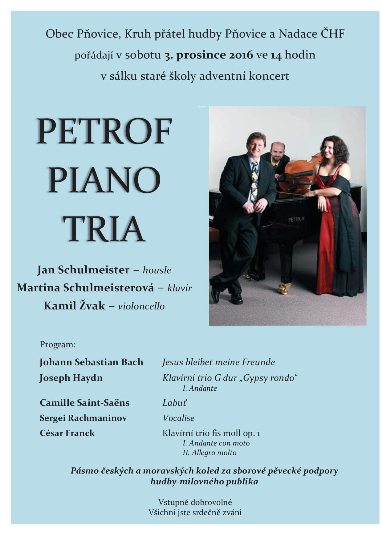 adventní koncert v Pòovicích