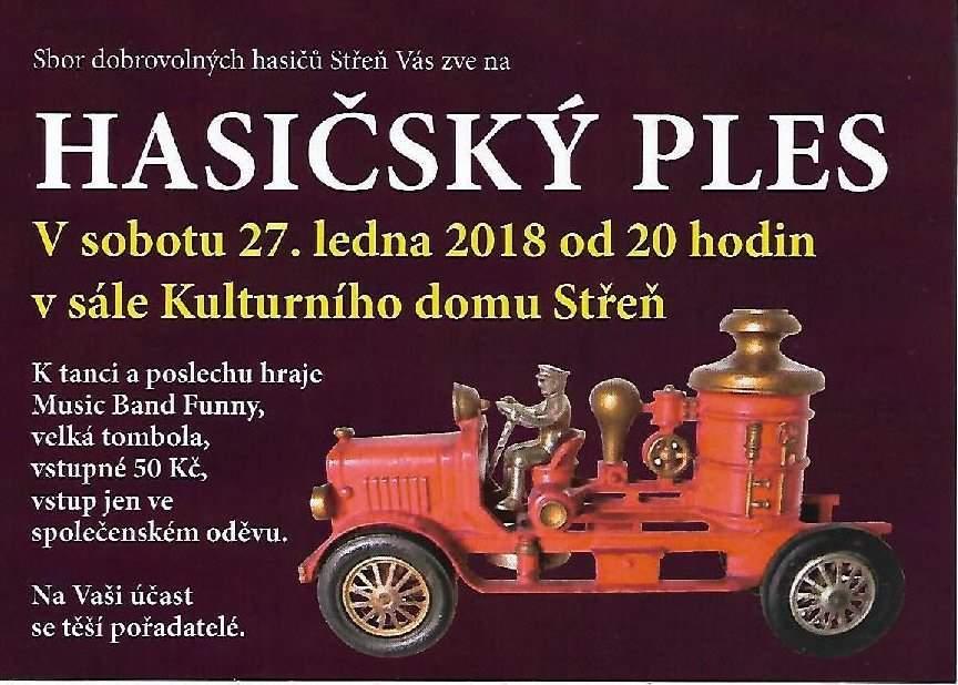 Hasièský ples Støeò
