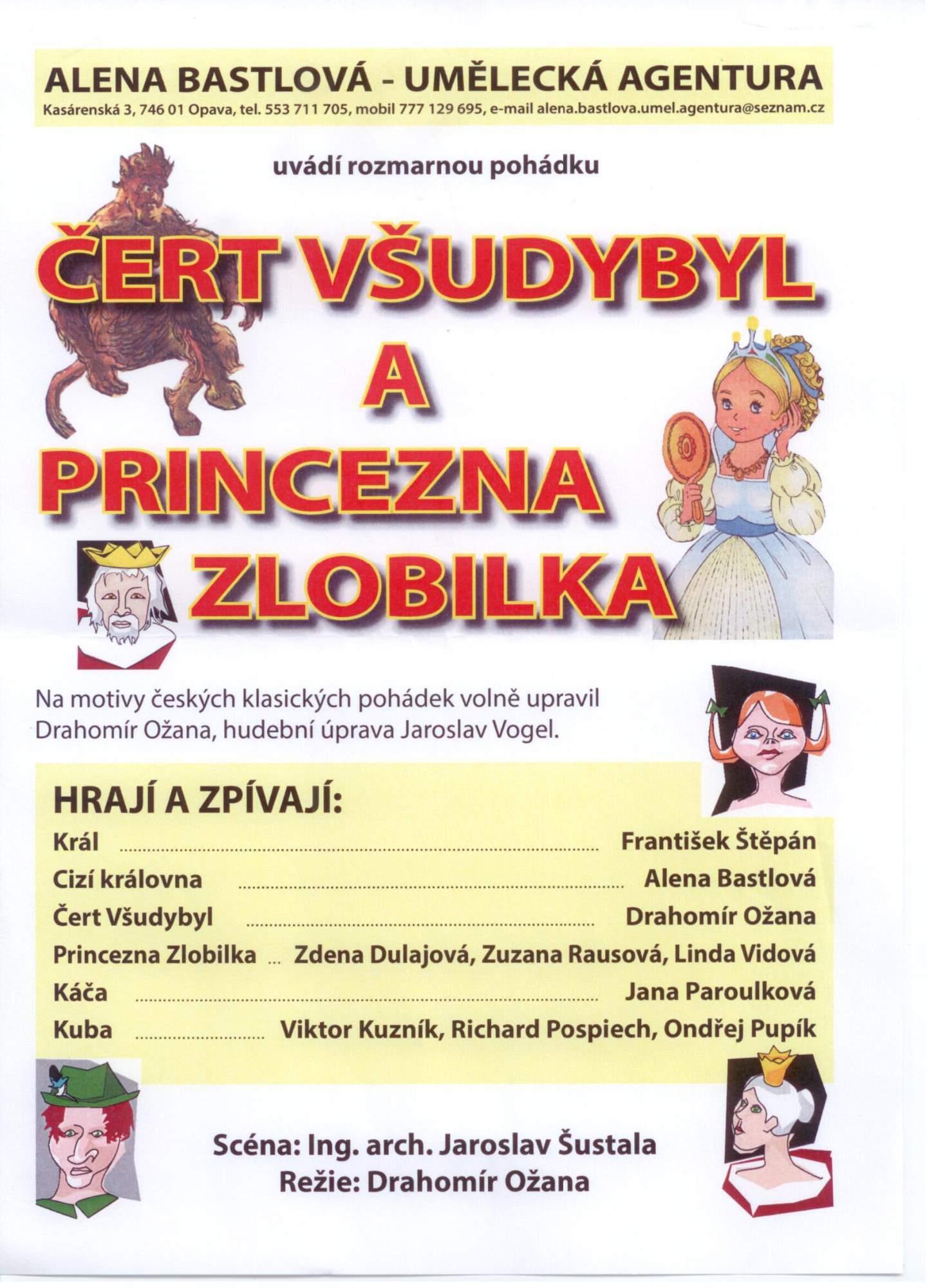 Èert V¹udybyl a princezna Zlobilka