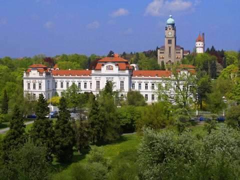 Psychiatrická nemocnice v Bohnicích, autor: městská část Praha 8 (www.praha8.cz)