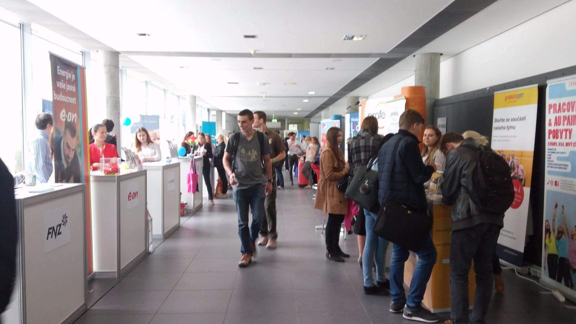 Provozně ekonomická fakulta Mendelovej univerzity v stredu otvorila brány záujemcom o zamestanie.