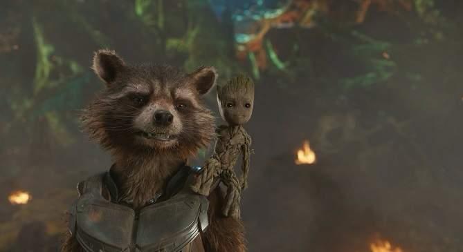 Postavu malého Groota hraje Vin Diesel. Foto: Walt Disney Studios Motion Pictures