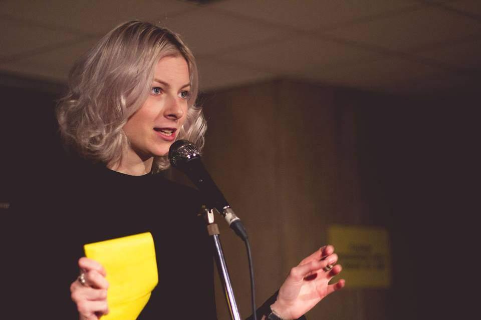 Slamerka Barbora při svém druhém vystoupení