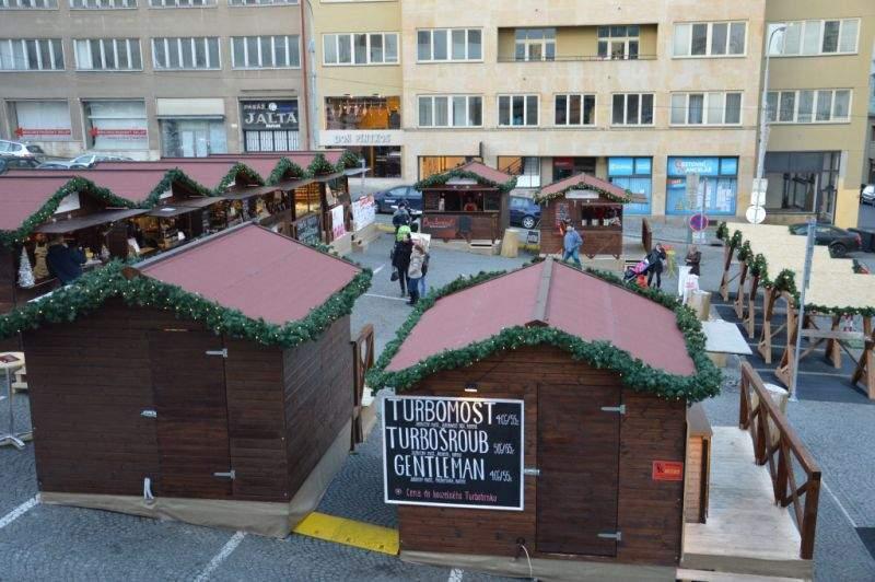 Vánoční trhy na Dominikánském náměstí