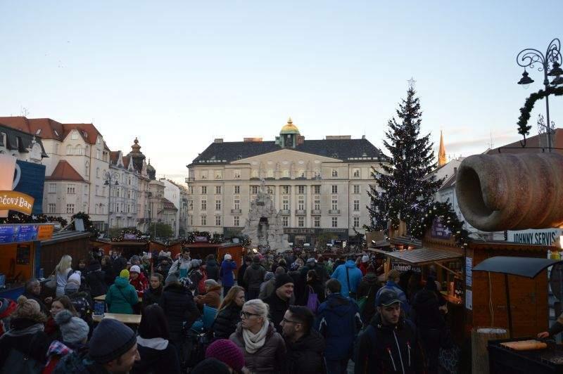 Vánoční trhy na Zelném trhu
