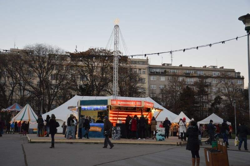 Vánoční trhy na Moravském náměstí