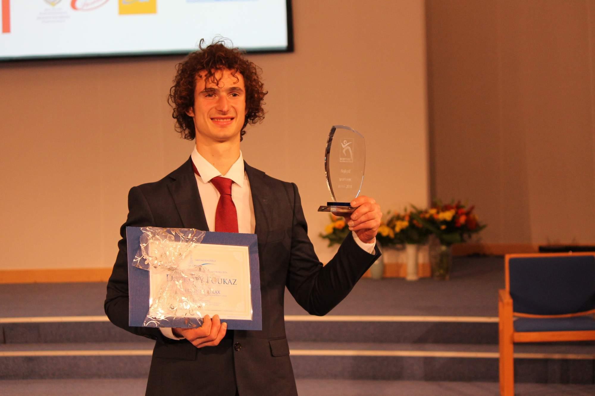 Vítěz kategorie sportovec roku Adam Ondra. Foto: Jan Vostal