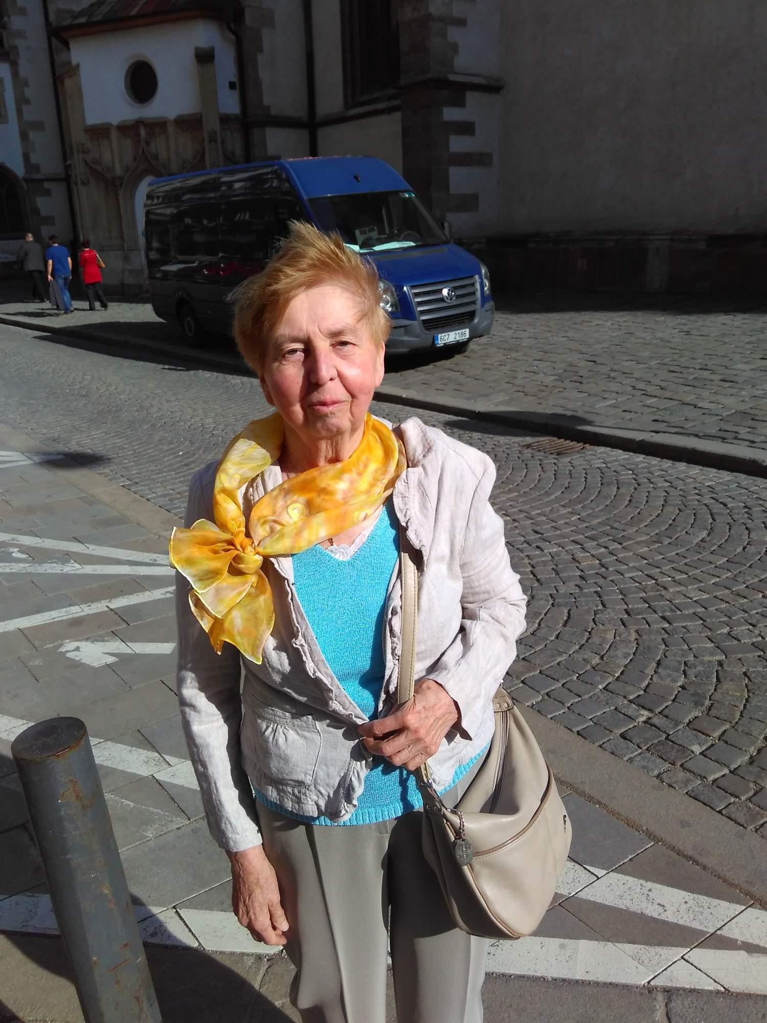 Respondentka Ludmila Skalníková. Foto: Jan Vostal