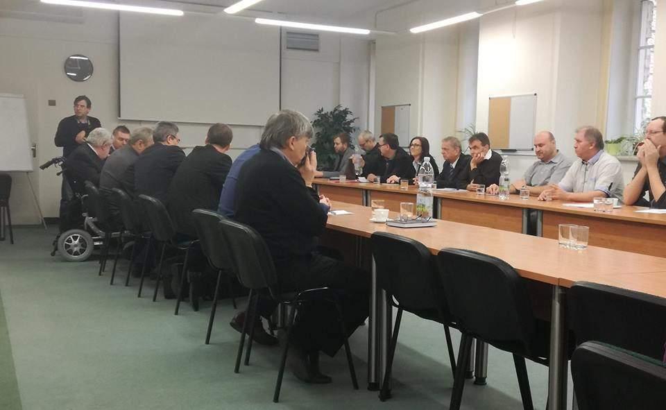 Jednání v budově Krajského úřadu Jihomoravského kraje. Foto: Jiří Král