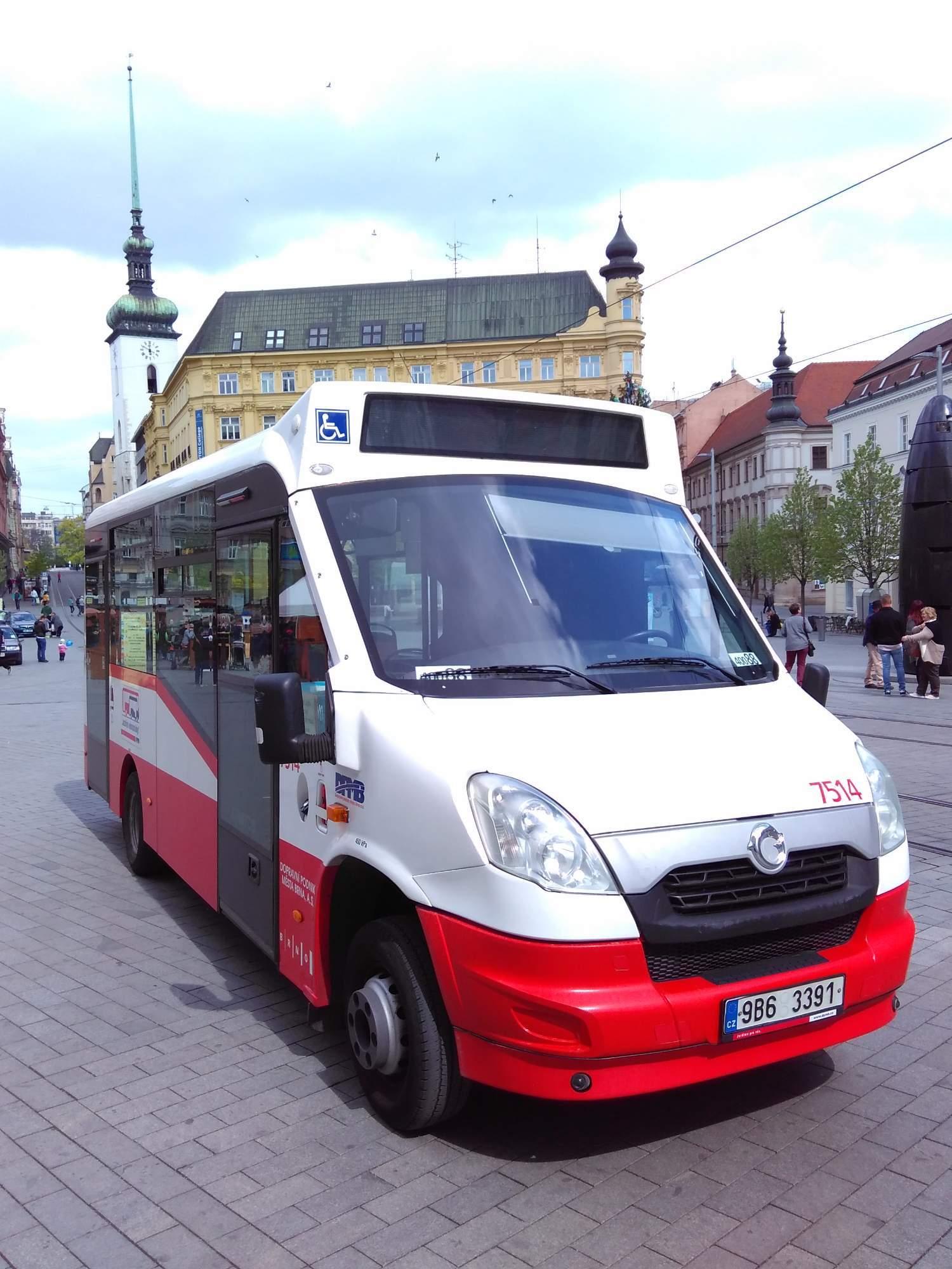 K vyhlídkovým jízdám slouží minibusy s menší kapacitou. Foto: Jan Vostal