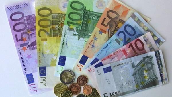 Spoločná európska mena euro. Foto: Jakub Vaverka