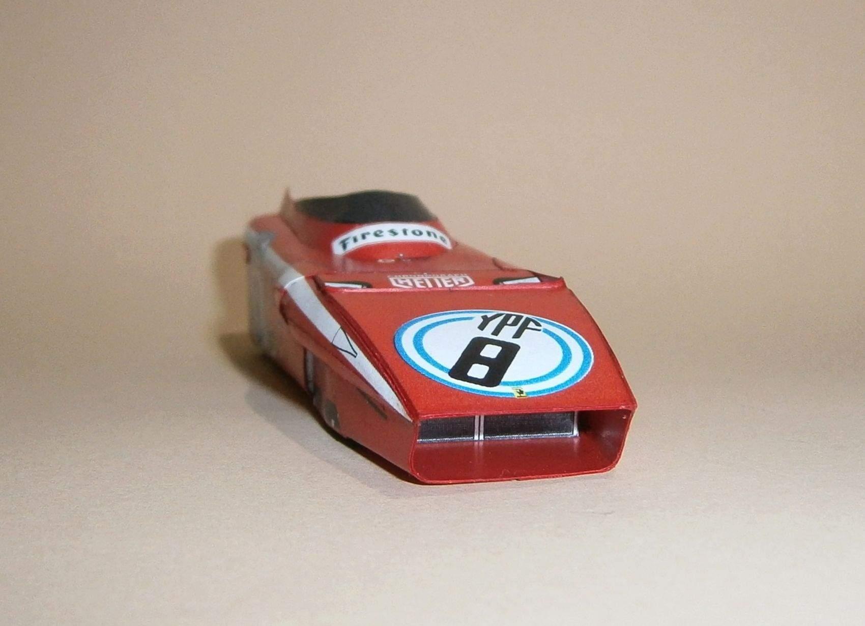 Ferrari 312B2 - J.Ickx, GP Argentina 1972