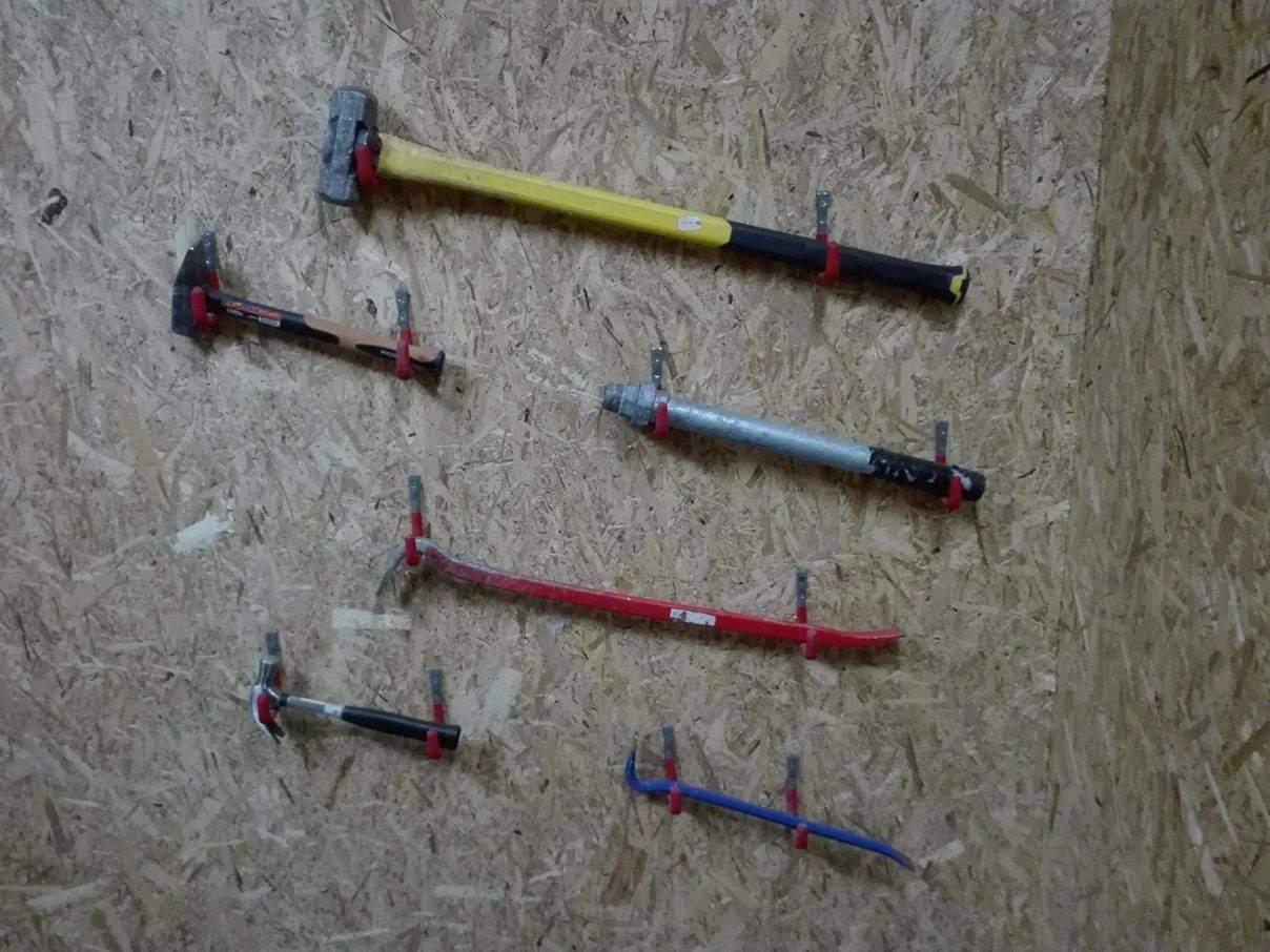 Výběr nástrojů. Foto: Jan Středa