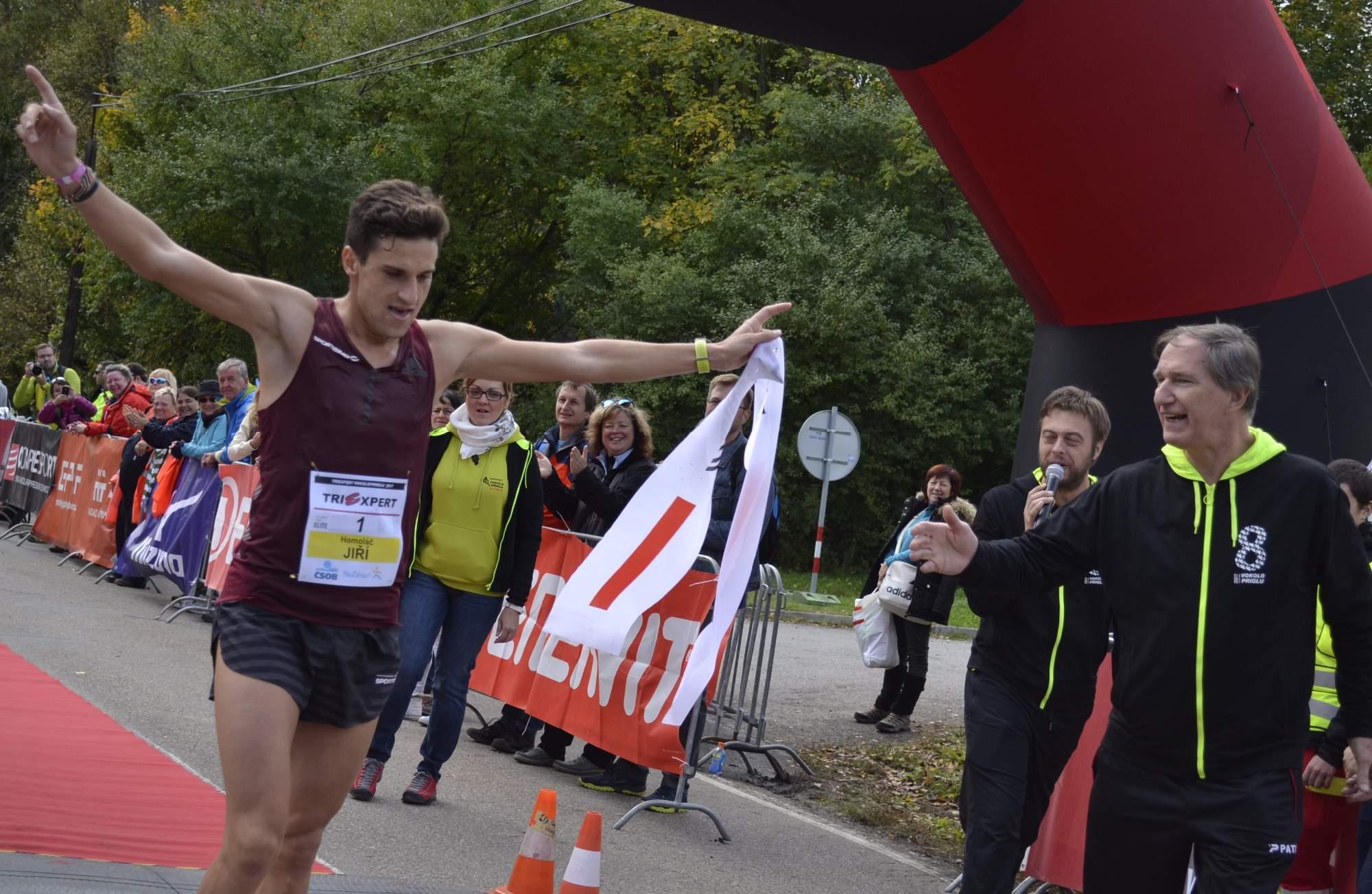 Absolutním vítězem závodu se již počtvrté stal Jiří Homoláč