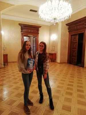 Anna Mudrová (vpravo) s Veronikou Berglovou