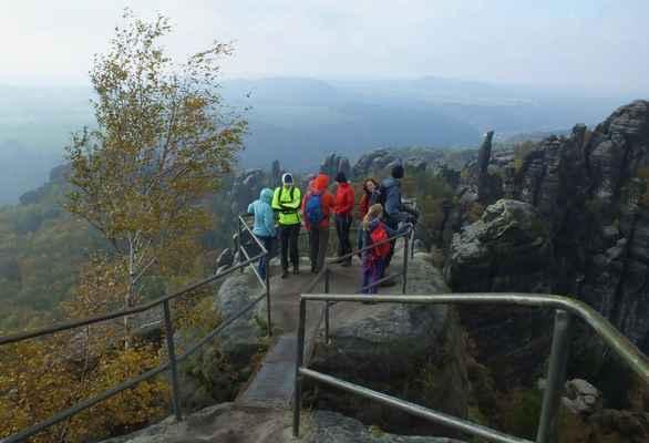 schrammsteinaussicht je právem jedna z nejvyhledávanějších skalních vyhlídek v saském švýcarsku...