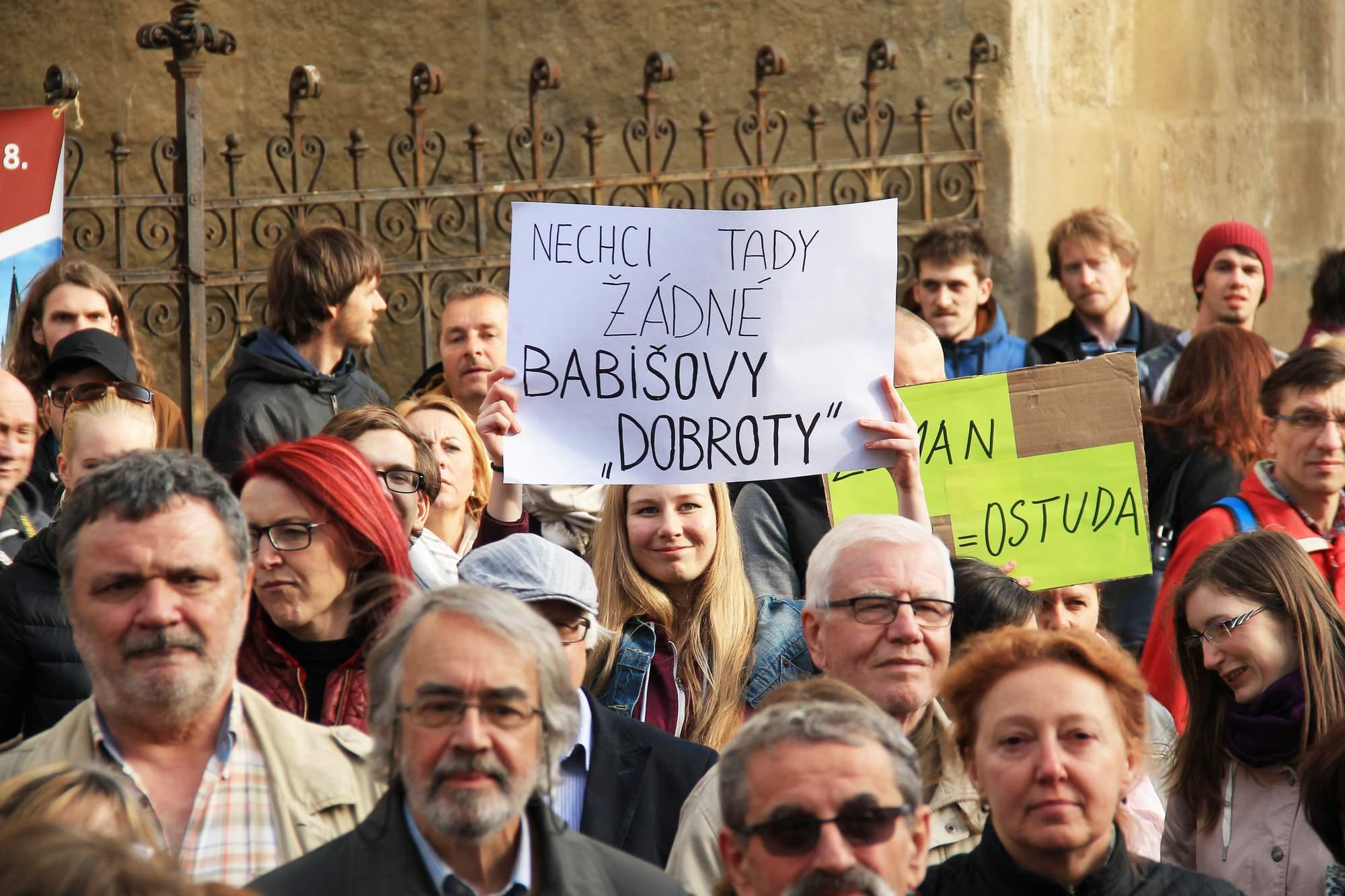 Demonstrace Proti Babišovi
