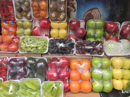 Velký výběr ovoce a zeleniny za nízké ceny.