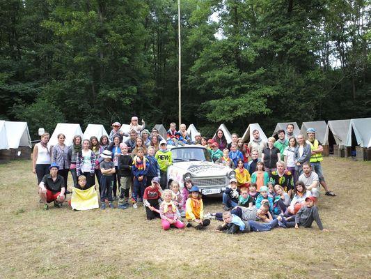 Tábor 2016 - Svitava 1. část, Trabantem napříč kontinenty
