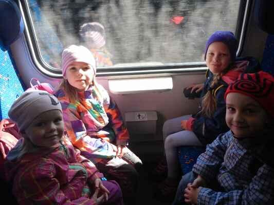 Výlet Tišnov -Veverská Bitýška březen 2017