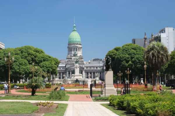 náměstí plaza de Congreso