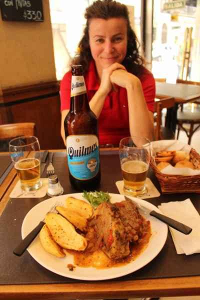 Menu del Día - výborné argentinské hovězí cena 100Kč