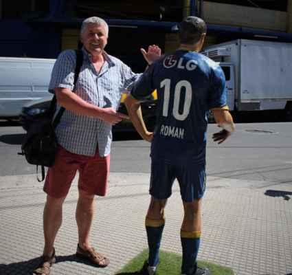 Roman kdysi také kopal za Boca Juniors :-)