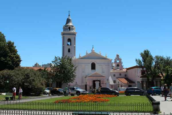 kostel v La Recoleta
