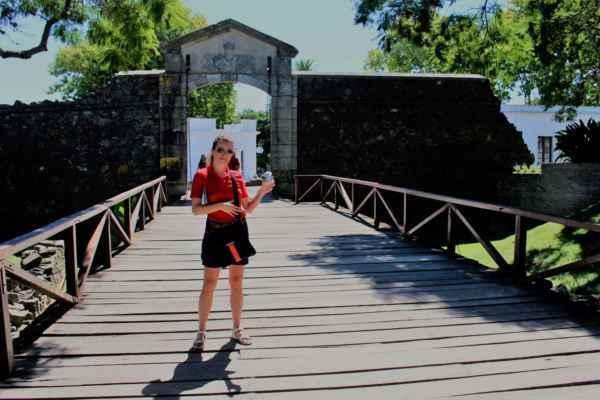 vstupní brána do Colonia De Sacramenta