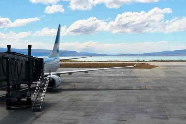 letiště v El Calafate