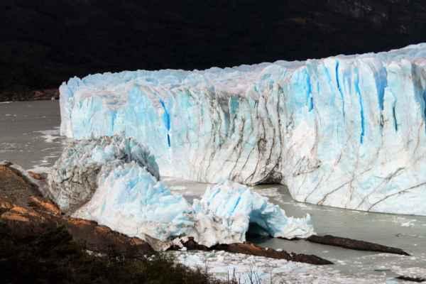 jeden z největších ledovců na jižní polokouli