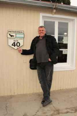"""na kultovní silnici """"ruta 40"""" vedoucí celou Argentinou"""