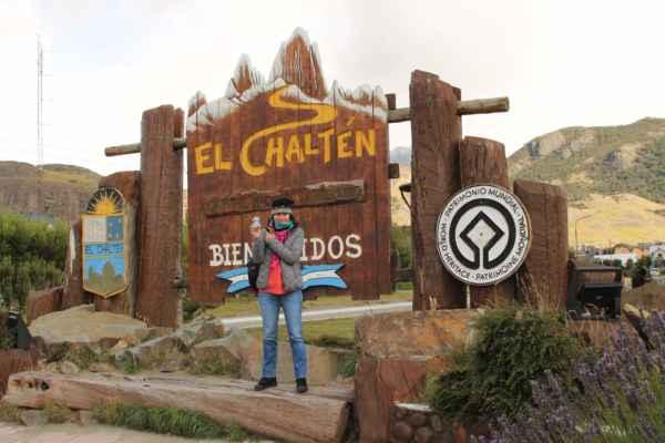 vesnice El Chaltén v horách