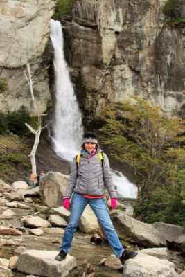vodopády nedaleko El Chalténu