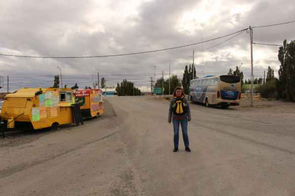 jedeme do Puerta Natales z 5 hod. autobusového přejezdu se stal 10 hodinový
