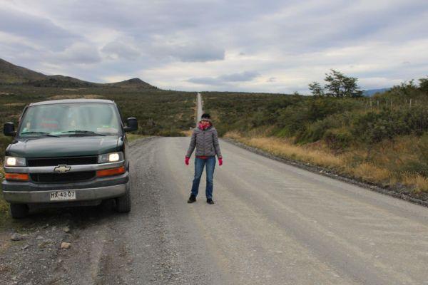 jsme v národním parku Torres del Paine