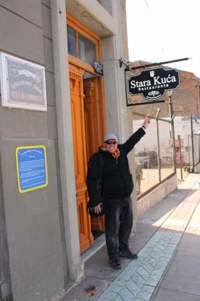 """v Punta Arenas se usídlili Chorvaté a tak chodíme na obědy do jejich """"Stare Kuči"""""""