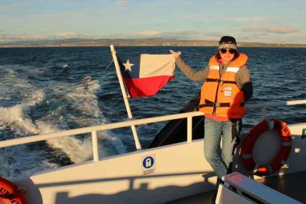pod chilskou vlajkou