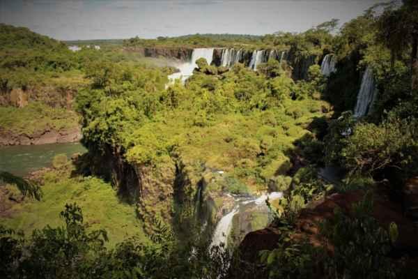 džungle a vodopády