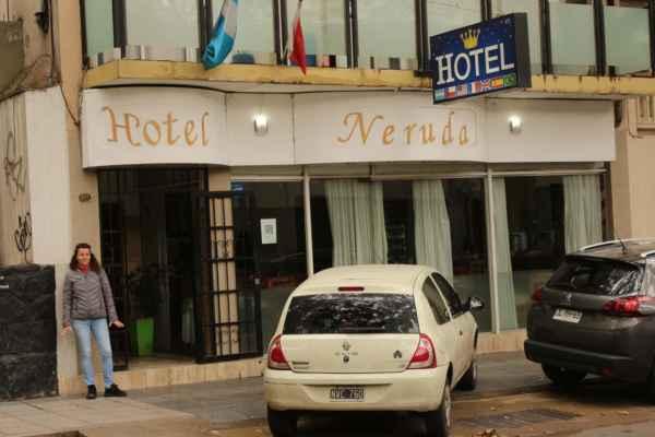 """Mendoza - hotel NERUDA :-) od slova """" nerudný """" pokoje NIC - MOC"""