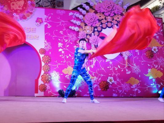 Představili se umělci z Číny.