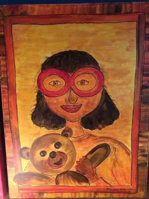 Bojínek - acrylic on canvas, 60 x 80 cm