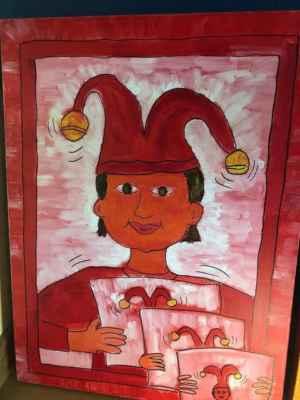 Smíšek - acrylic on canvas, 60 x 80 cm
